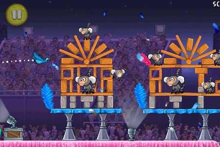 لعبة الطيور الغاضبة HD للايفون Angry Birds Rio Free iPhone 1.2.0 Angry-Birds-Rio-Free