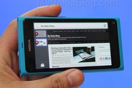 برنامج متصفح الفايرفوكس لهاتف نوكيا N9
