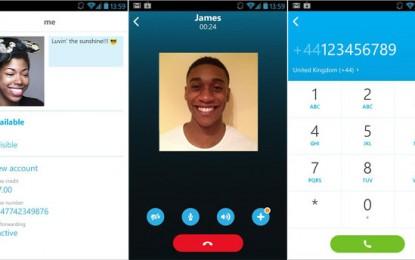 تطبيق سكايب Skype للأندرويد