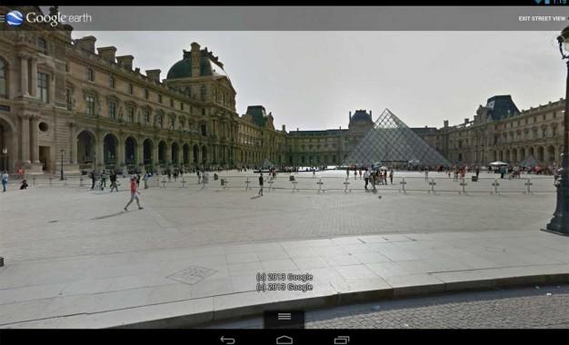 تطبيق جوجل إيرث Google Earth للأندرويد