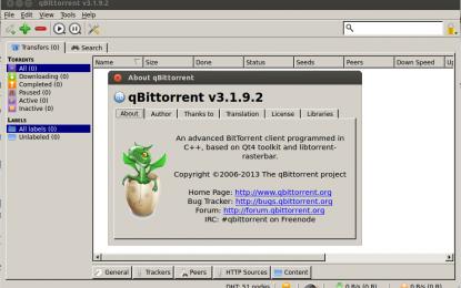 qBittorrent 3.1.9.2 برنامج كيو بت تورنت