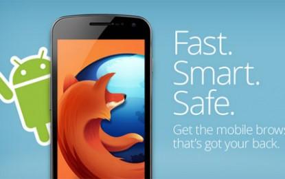 Firefox 31 متصفح فايرفوكس على الأندرويد