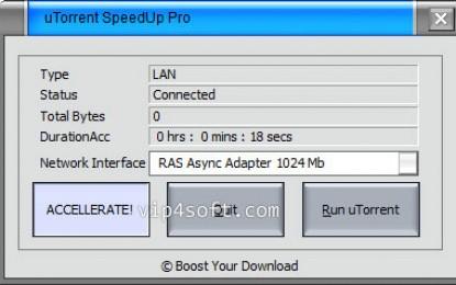 uTorrent SpeedUp PRO 3.4.2.31743 تسريع تحميل برنامج تورنت