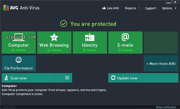 AVG Antivirus Professional