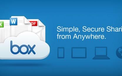 """تطبيق """"بوكس"""" Box على الايفون و الايباد"""