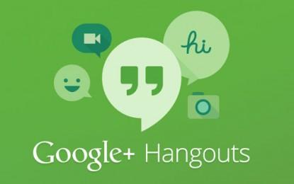 """Hangouts 2.0.0 تطبيق المحادثة الفورية """"هانج آوتس"""" للآيفون و الآيباد"""