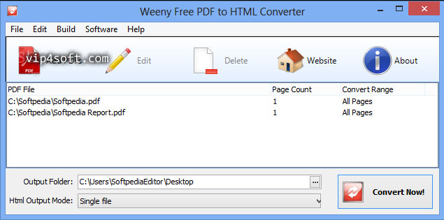 Weeny-Free-PDF-to-HTML-Conv