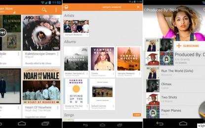 Google Play Music for Android تطبيق جوجل بلاي ميوزك على الأندرويد