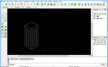 "LibreCAD 2.0.2 برنامج الرسم الهندسي ""لبركاد"""