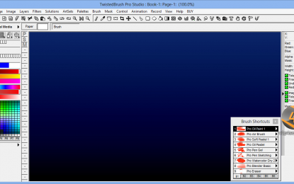 TwistedBrush Pro Studio 20.07 برنامج رسم احترافي