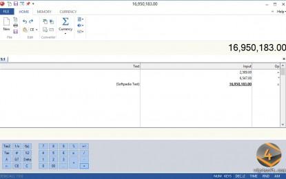 DeskCalc 7.0.4 برنامج الآلة الحاسبة العلمية