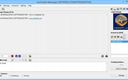 LanToucher Instant Messenger 1.6 برنامج ماسنجر عبر شبكة الاتصال المحلية