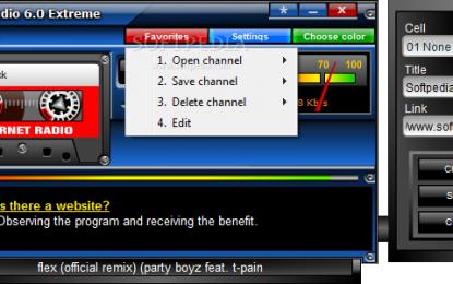 Xstar Radio Extreme 6.8 برنامج للاستماع لمحطات الرديو