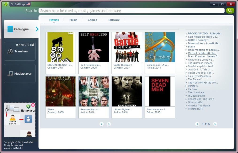 تحميل برنامج MediaGet لتحميل أي ملف وسائط