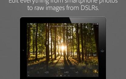 Adobe Lightroom تطبيق فوتوشوب للايباد
