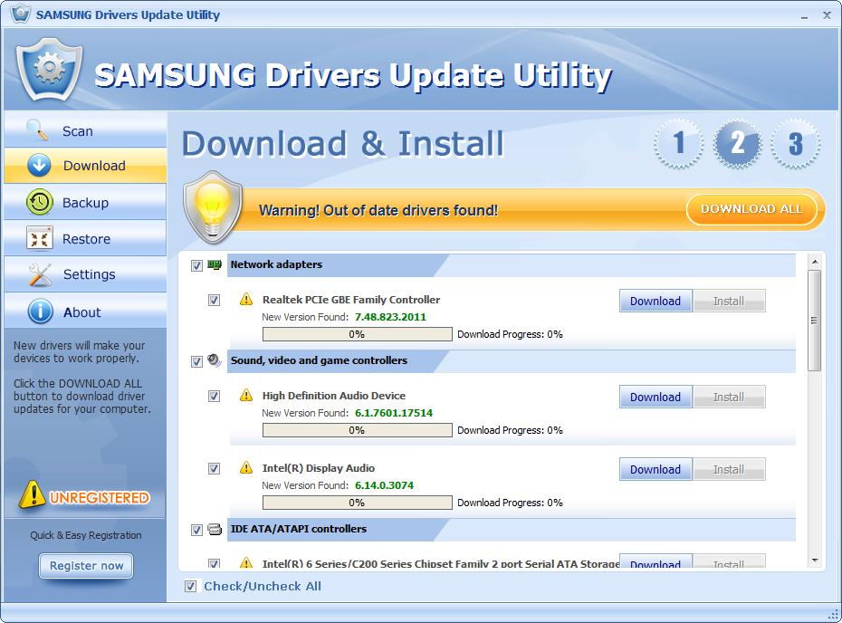SAMSUNG-Drivers-Update-Util