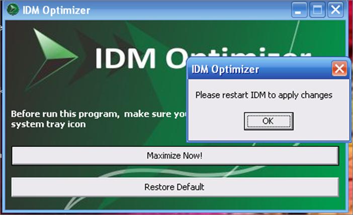 IDM Optimizer