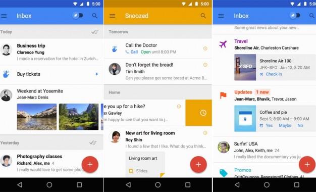 تطبيق Inbox by Gmail لأجهزة أندرويد