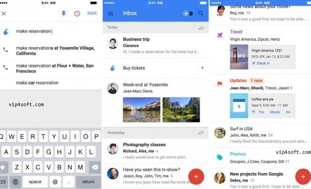 تحميل تطبيق Inbox by Gmail لأجهزة آيفون و الآيباد