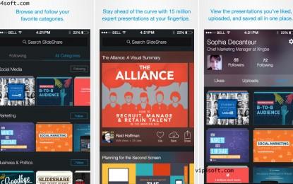 تطبيق SlideShare Presentations للايفون والايباد