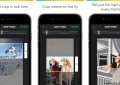 Crop on the Fly App for iPhone تطبيق قص مقاطع الفيديو لهواتف آيفون