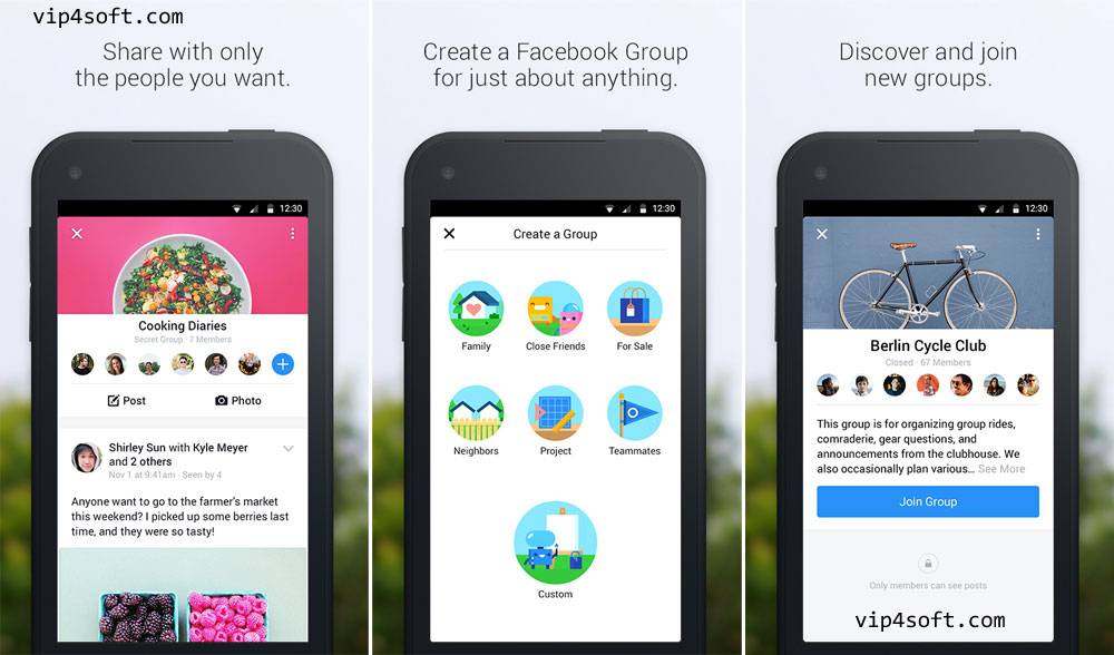 Facebook-Groups-for-Android
