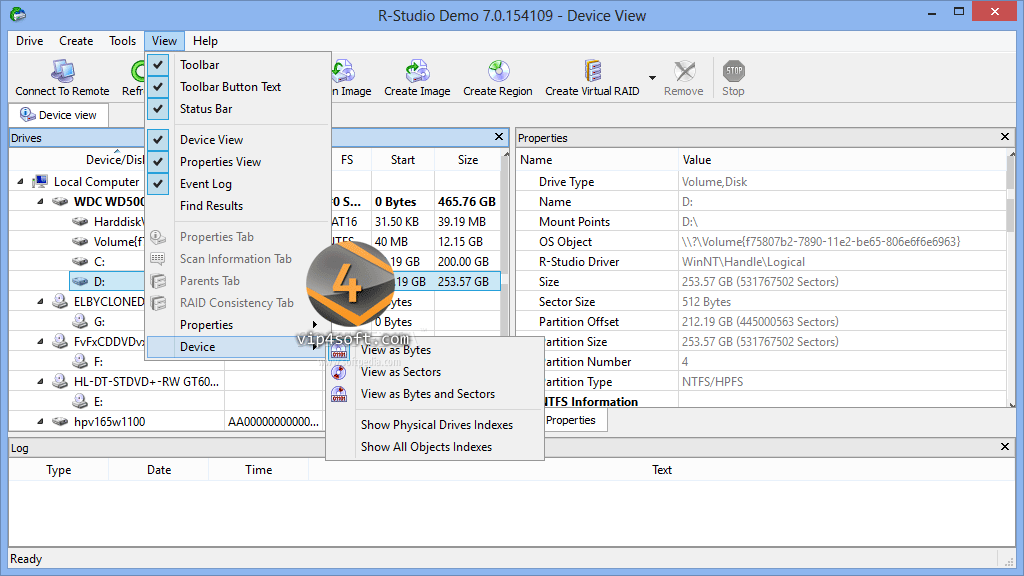 RStudio-Data-Recovery-Softw