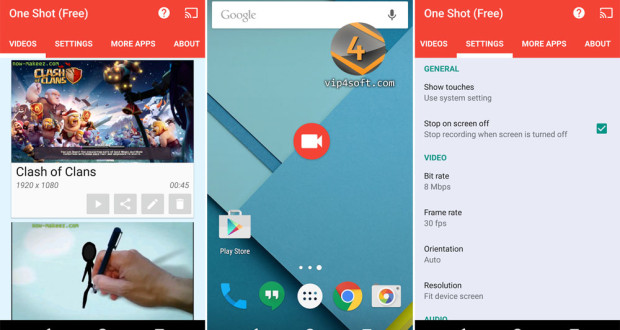 One-Shot-screen-recorder-for-android-1000×588