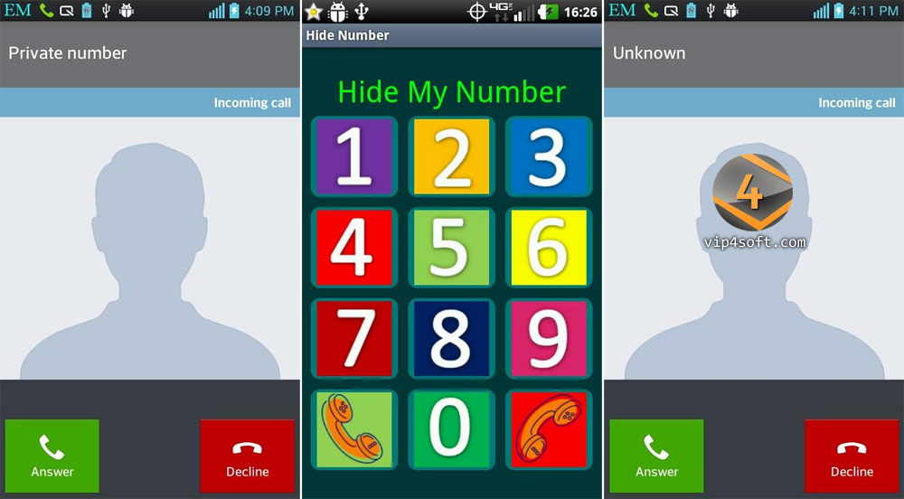 How to hide caller id vodafone