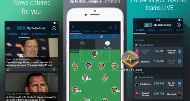 365Scores app for ios