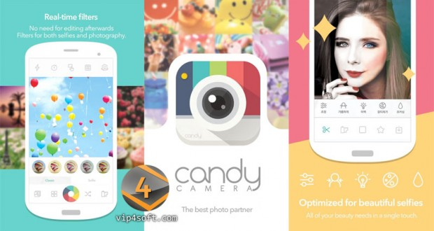 Candy-Camera-for-Selfie