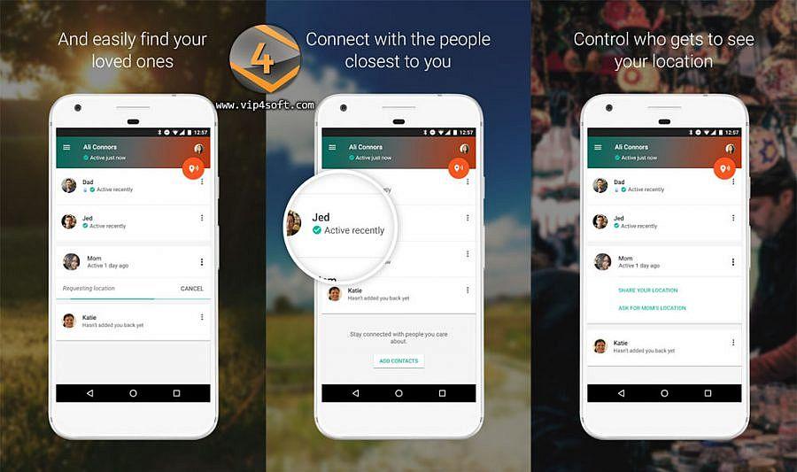 تحميل تطبيق جهات الاتصال الموثوقة Trusted Contacts لأجهزة أندرويد