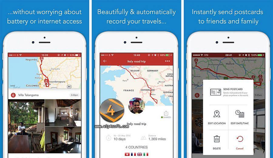 تحميل تطبيق Esplorio لتتبع رحلتك وعمل مجلة لمشاركتها مع الاصدقاء على الايفون