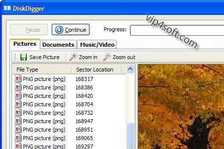 برنامج diskdigger للايفون