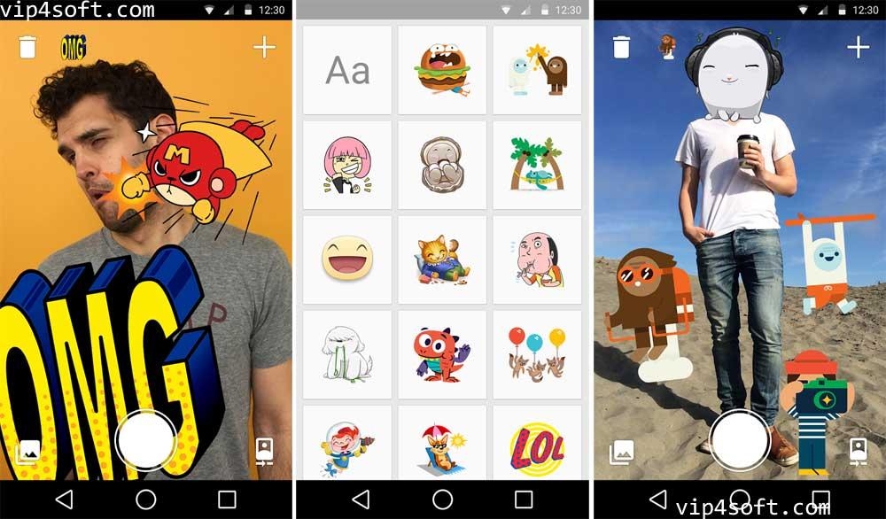 Facebook Stickered تطبيق ملصقات فيسبوك لأجهزة أندرويد